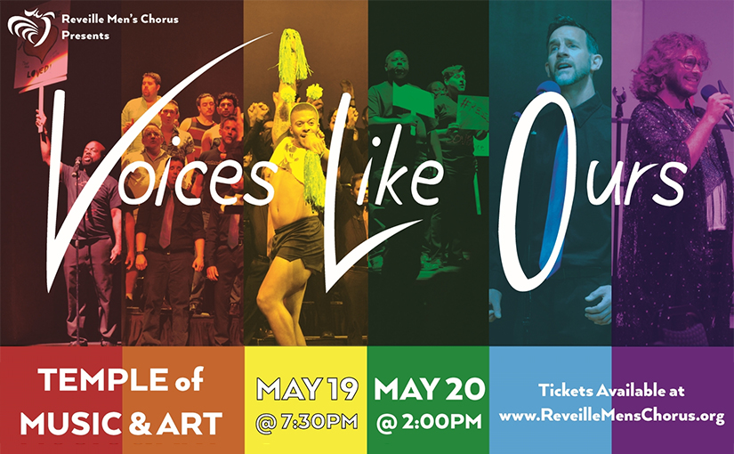 Reveille Mens Chorus Spring Show: Voices Like Ours, May 2018