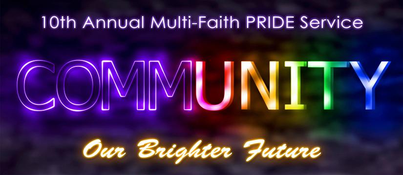 10th Annual Multi-Faith PRIDE Service, Tucson, AZ