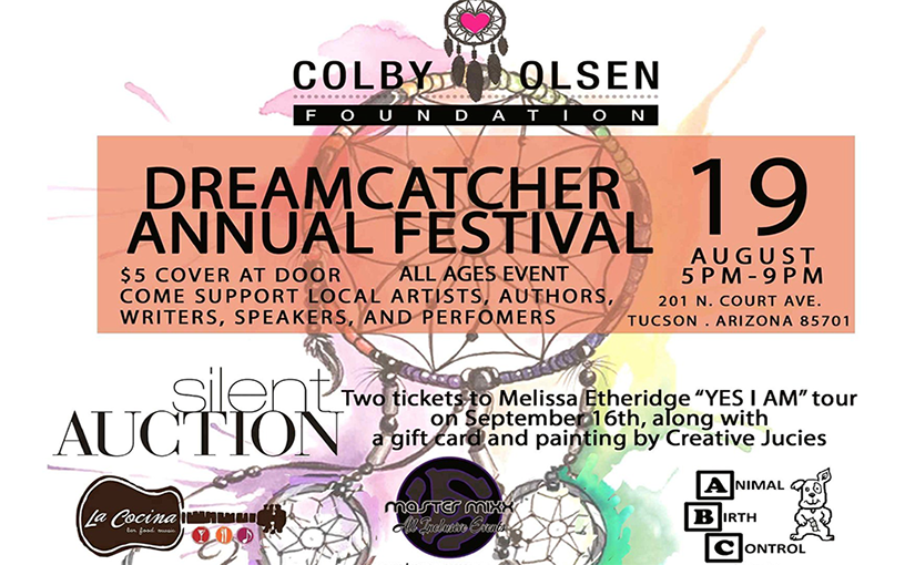 Colby Olsen Dreamcatcher Annual Festival, Aug 19, 2018