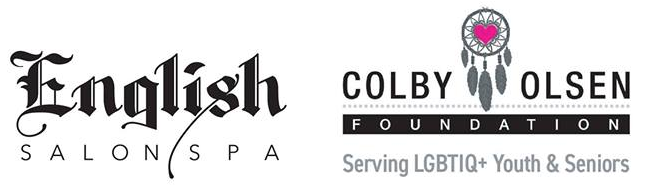 Free haircut for LGBTQ+ at-risk and limited-income seniors sponsored by English Salon/Spa and Colby Olsen Foundation