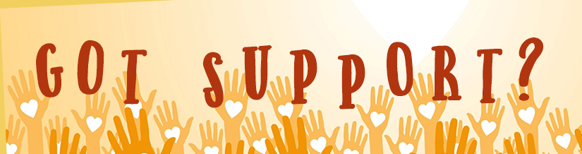 Got Support? Senior Pride has support groups!