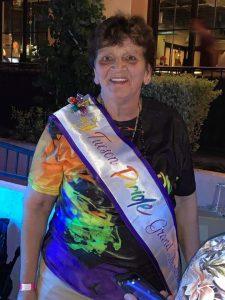 photo Natalie Perry wearing Pride sash