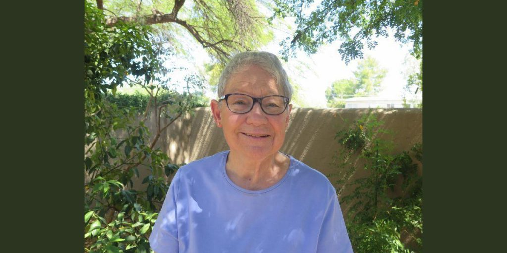 photo of Joyce Bolinger is a volunteer with Southern Arizona Senior Pride and a former volunteer with Wingspan, Tucson's LGBTQ community center, which closed in 2014 after 25 years.