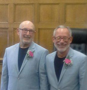 photo of Les Tannenbaum and Steve Klusmire