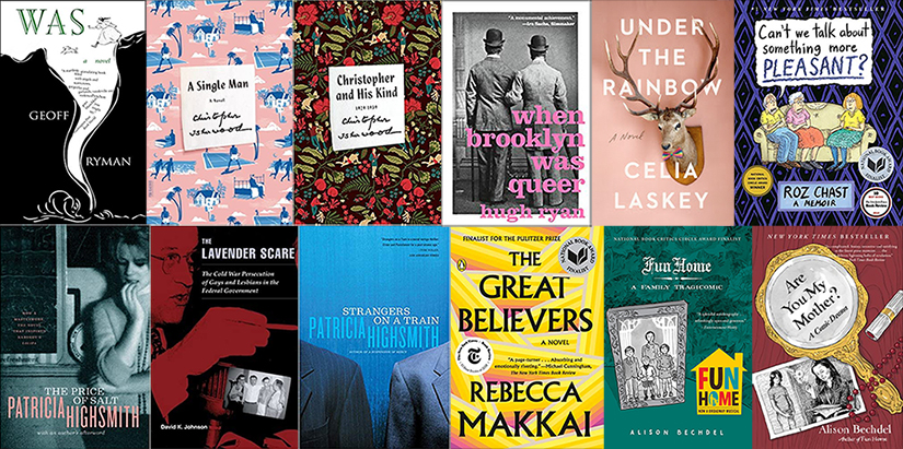 Collage showing covers of the books on Les Tannenbaum's 2020 Summer Reading List